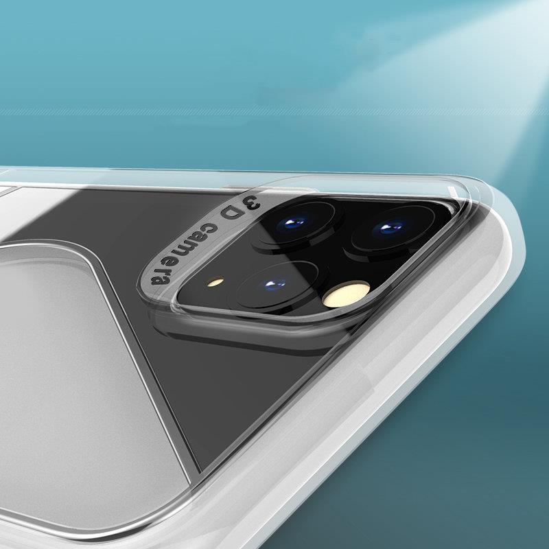 S-Case silikonové pouzdro na Huawei P40 Lite E transparent