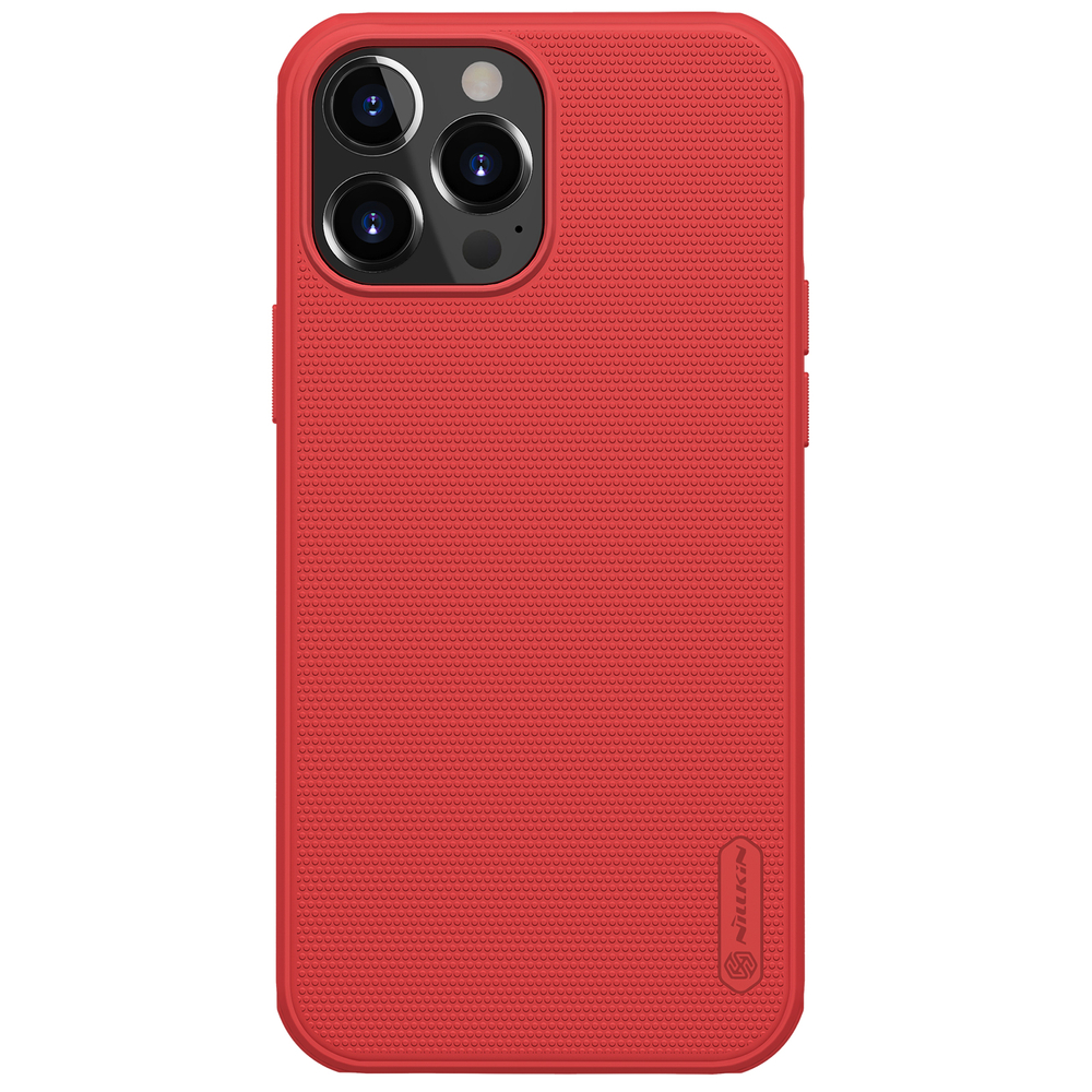 """Nillkin Super Frosted Pro silikonové puzdro naiPhone 13 Pro MAX 6.7"""" red"""