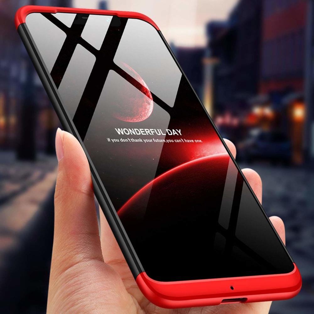 GKK 360 Protection pouzdro na Xiaomi Pocophone F1 black-red
