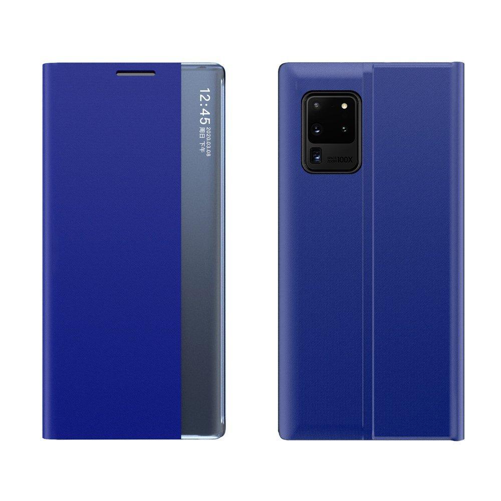 New Sleep knížkové pouzdro na Samsung Galaxy A72 / A72 5G blue