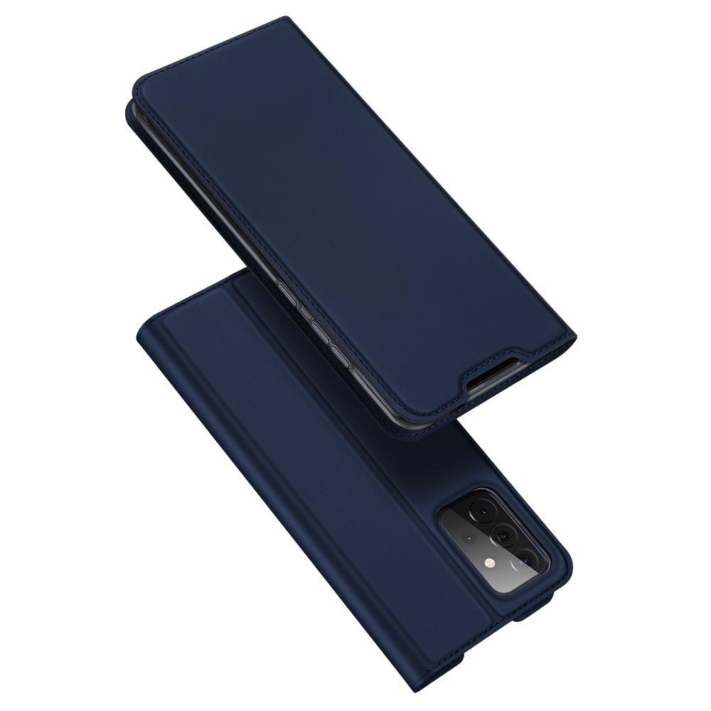 DUX DUCIS Skin knížkové púzdro pre Samsung Galaxy A72 blue