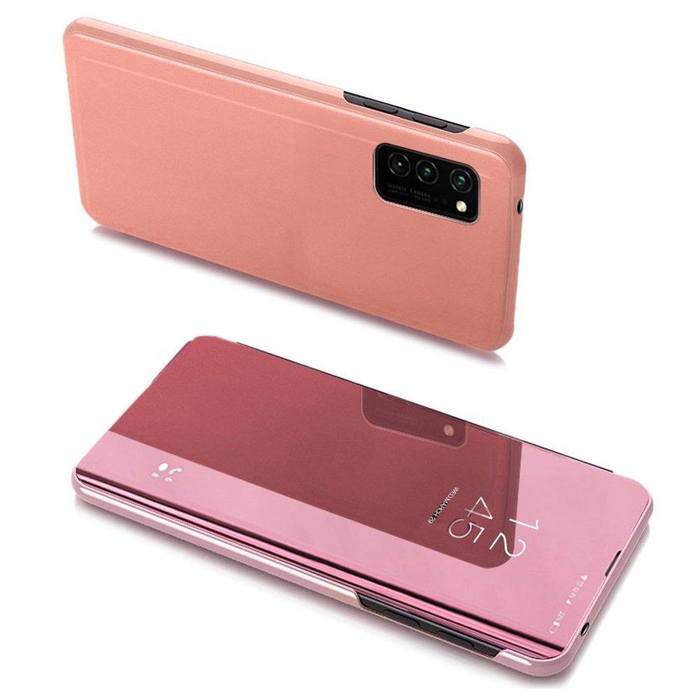 flipové pouzdro Clear View pro Samsung Galaxy A32 5G , růžová 9111201930537