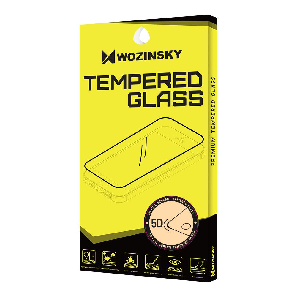 Celoplošné temperované tvrzené sklo 5D na iPhone 8 Plus / 7 Plus black