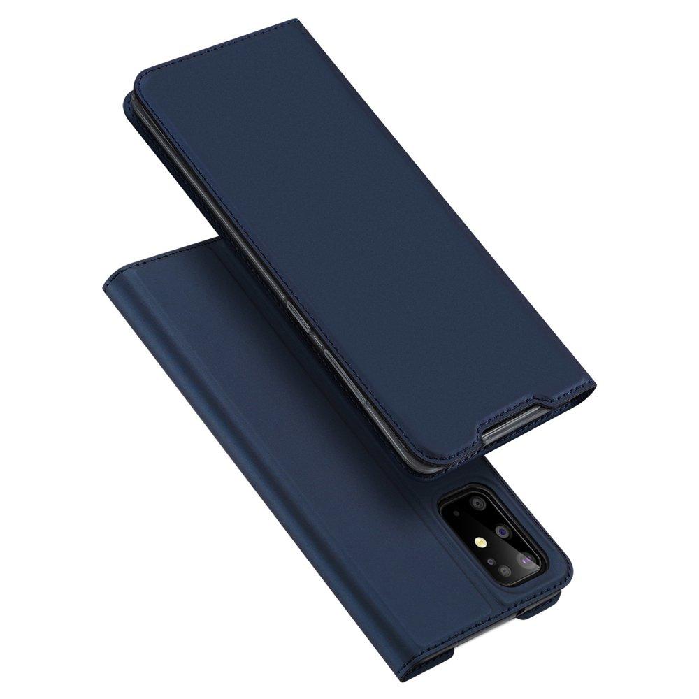 DUX DUCIS Skin knížkové púzdro pre Samsung Galaxy S20 Plus blue