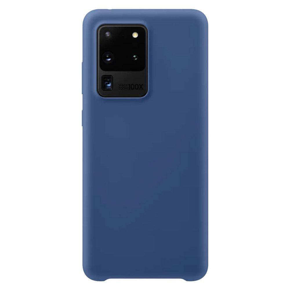 Silikonové pouzdro LUX na Samsung Galaxy S20 Ultra dark blue