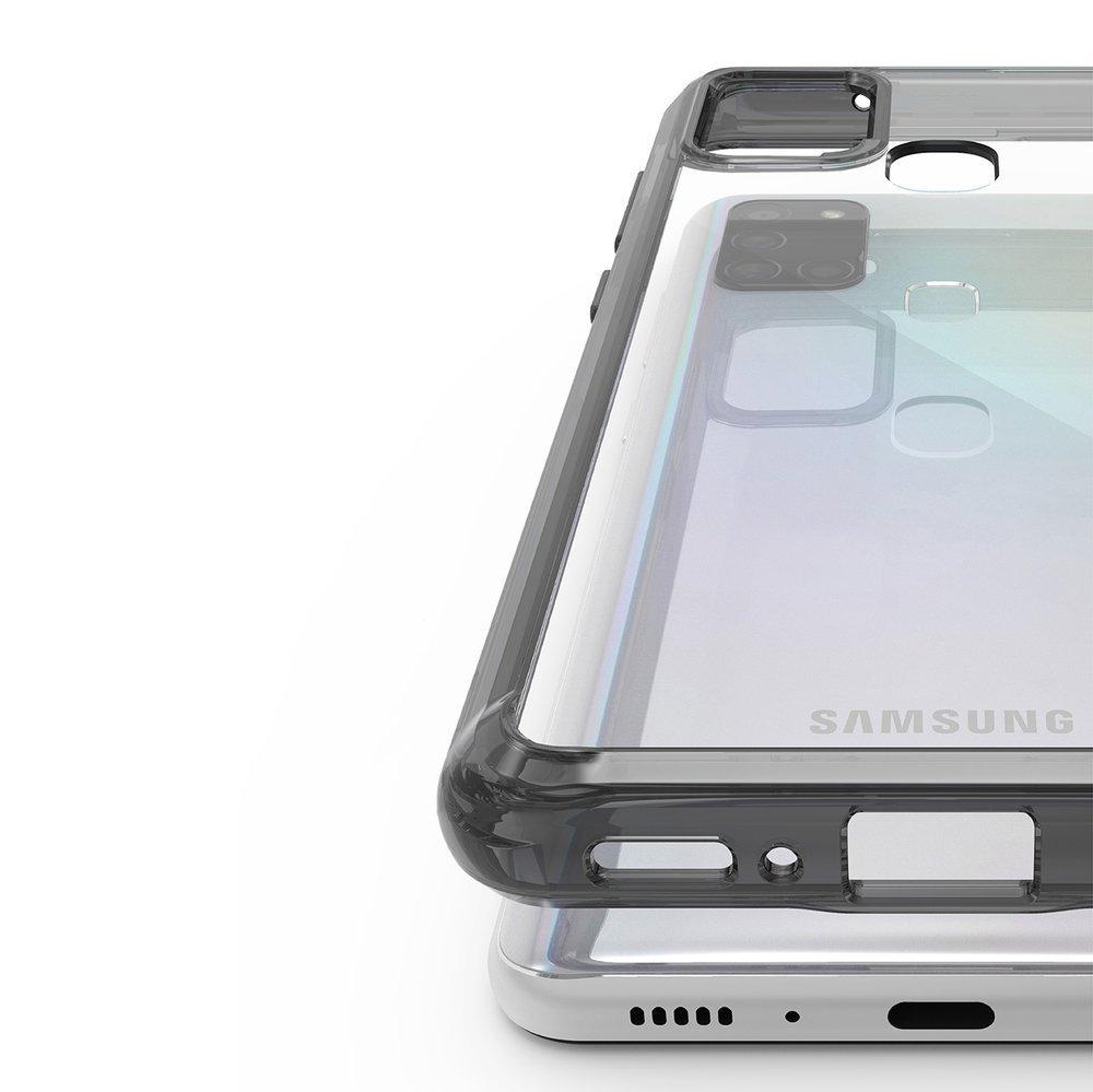 Ringke Fusion pancéřové pouzdro na Samsung Galaxy A21s smoke black