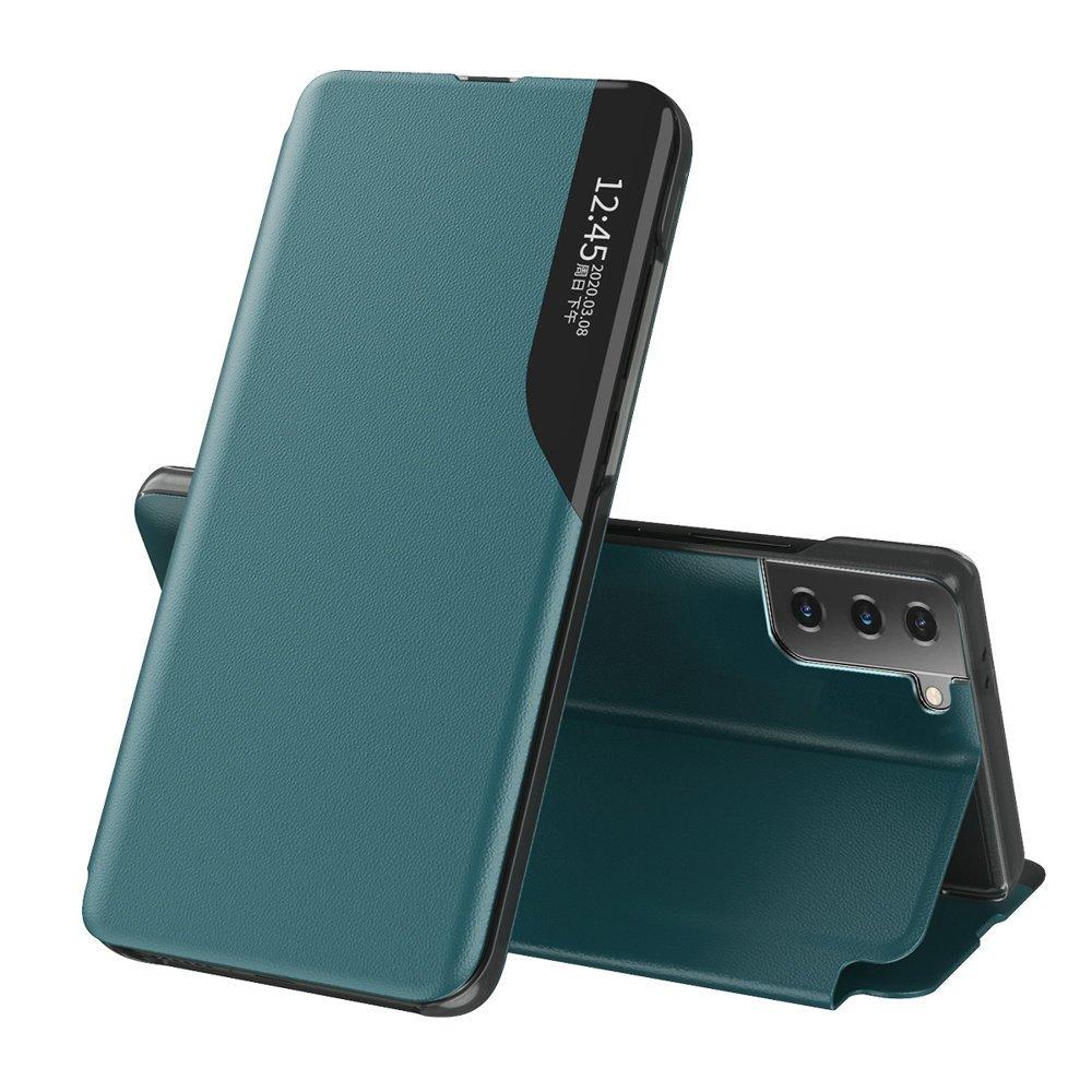 Flipové pouzdro Eco Leather View Case Samsung Galaxy S21+ 5G (S21 Plus 5G) , zelená 9111201925076