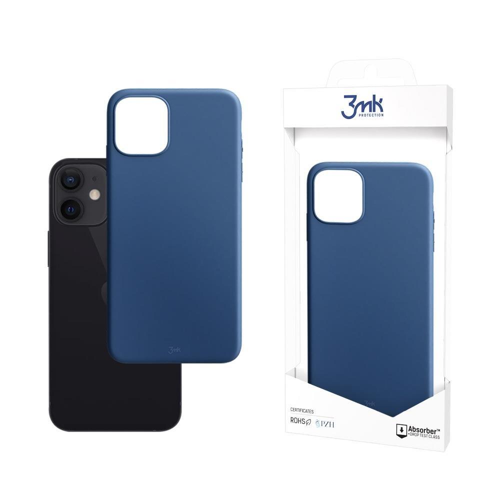 """Ochranný kryt 3MK Matt Case iPhone 12 Mini 5,4"""" jagoda/blueberry"""