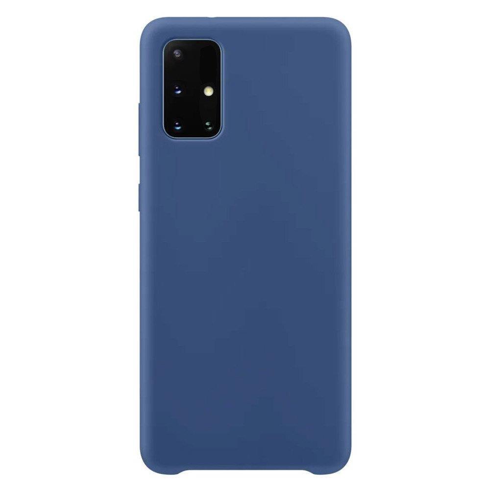 Silikónové púzdro LUX na Samsung Galaxy S21 Ultra 5G dark blue