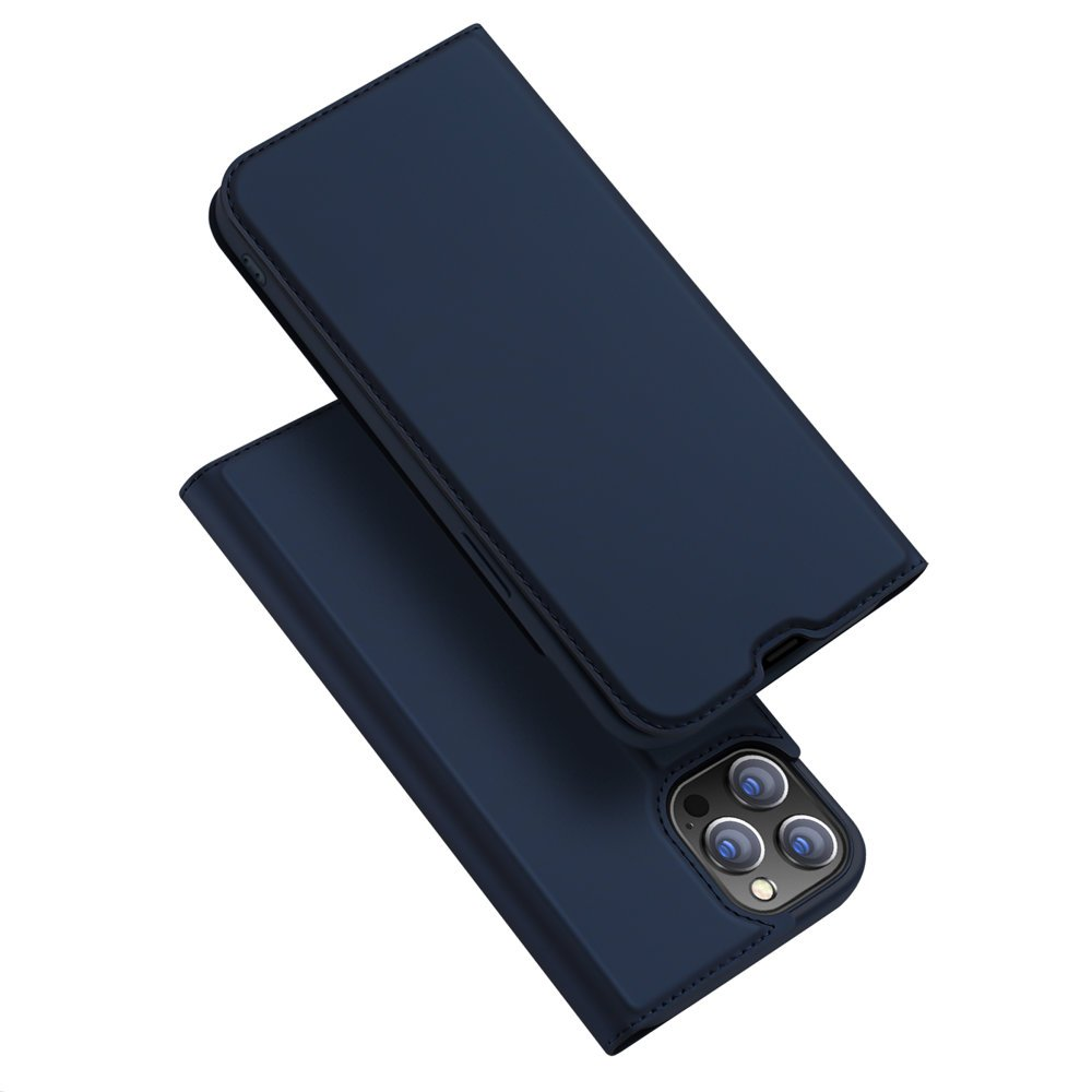 "DUX DUCIS Skin knížkové pouzdro naiPhone 13 Pro 6.1"" blue"