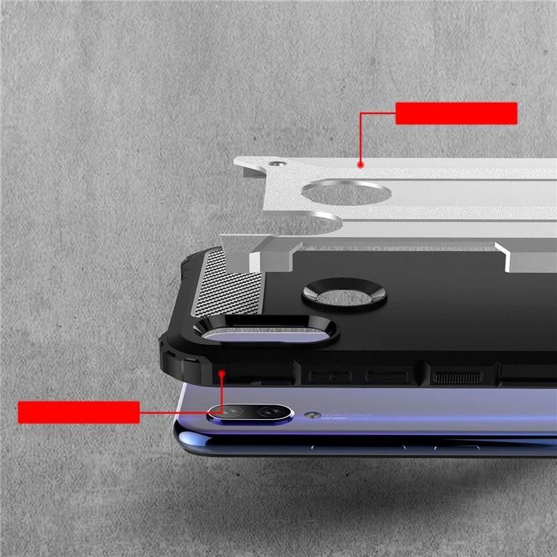 Hybrid pancéřové polykarbonátové pouzdro pro Xiaomi Redmi 7 blue