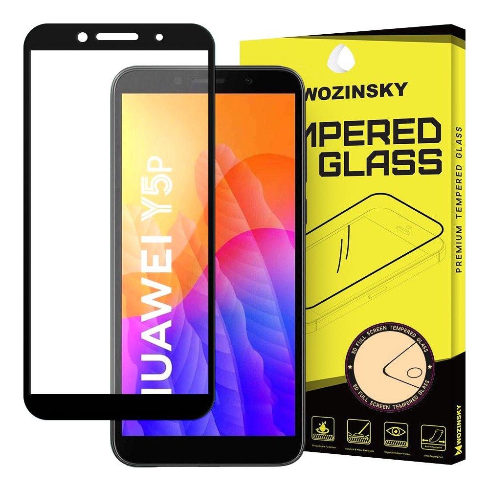 Celoplošně lepené temperované tvrzené sklo 9H na Huawei Y5p