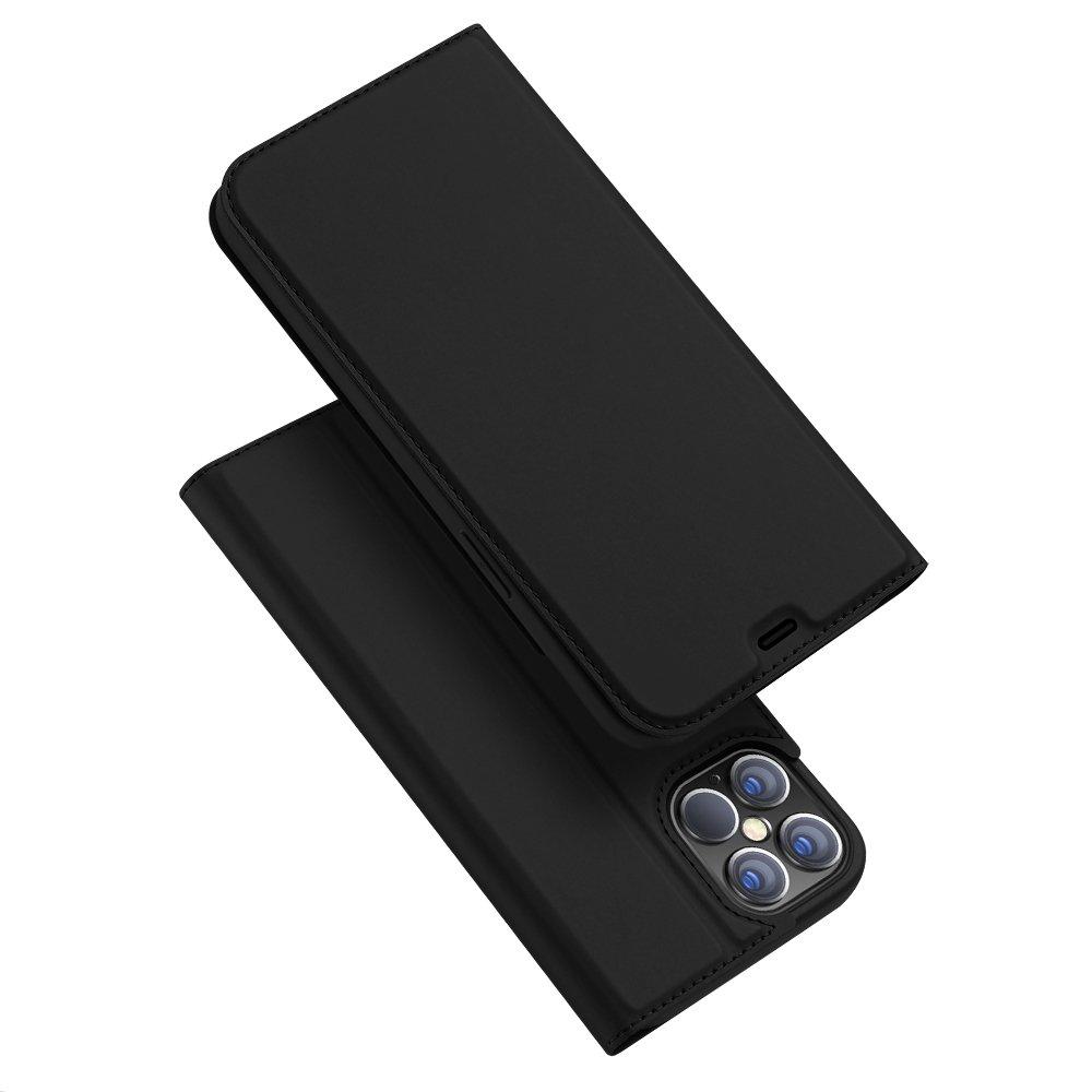 """DUX DUCIS Skin knížkové púzdro pre iPhone 12 Pro Max (6.7"""") black"""