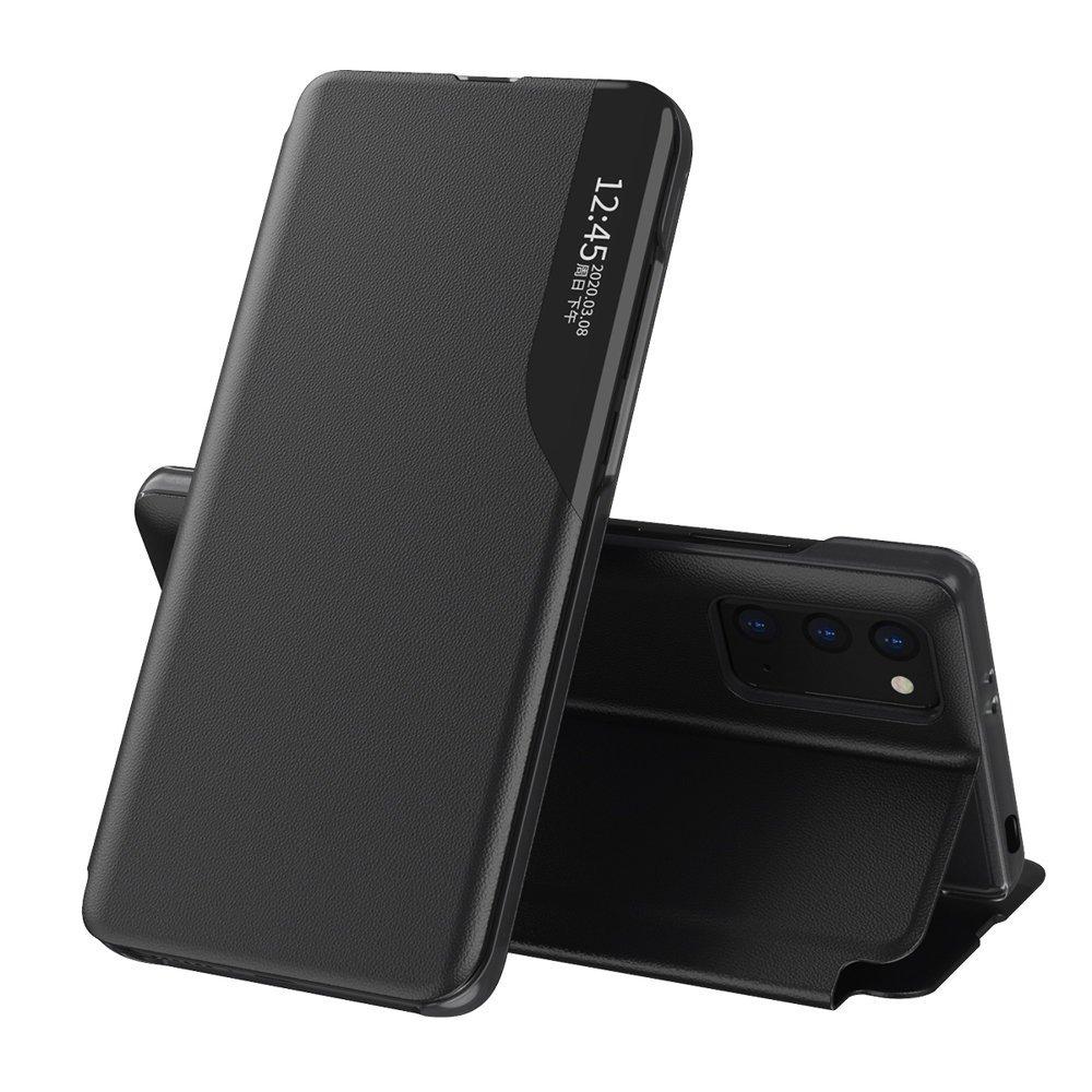 Knížkové puzdro s imitáciou kože pre Xiaomi Redmi 9T / Poco M3 black