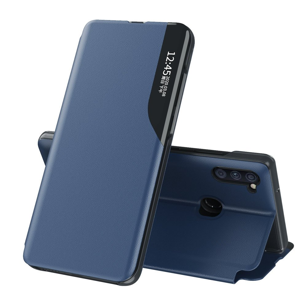 Flipové pouzdro Eco Leather View Case Samsung Galaxy A11 / M11 , modrá 9111201927148