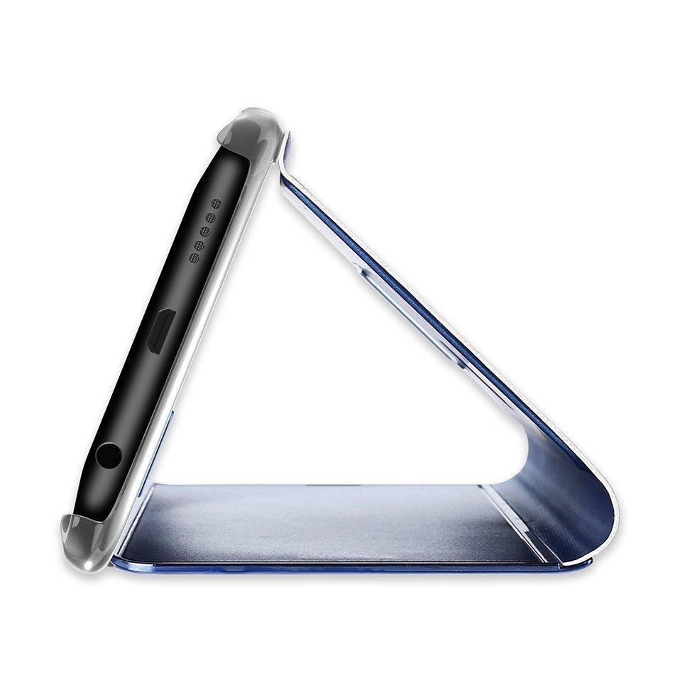 Knížkové pouzdro pro Samsung Galaxy S8 G950 black s průhlednou přední stranou