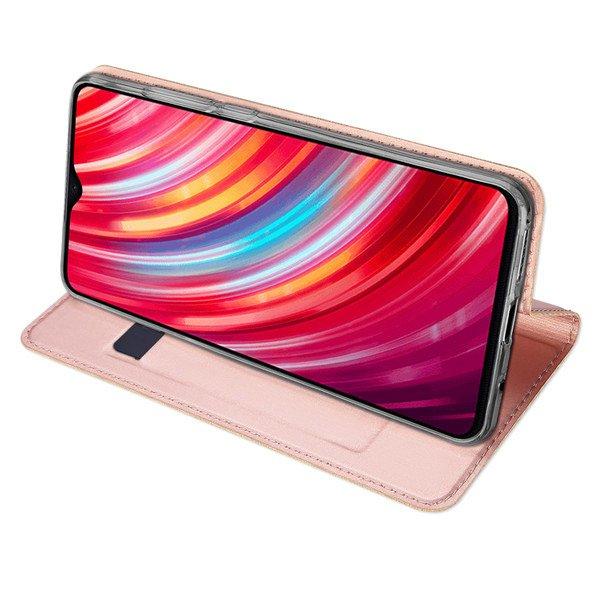 Dux Ducis SKIN knížkové pouzdro na Xiaomi Redmi Note 8 pro Rose gold