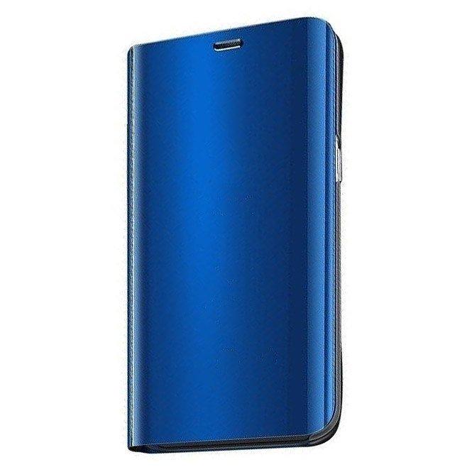 Knížkové pouzdro na Xiaomi Redmi 9 blue s průhlednou přední stranou