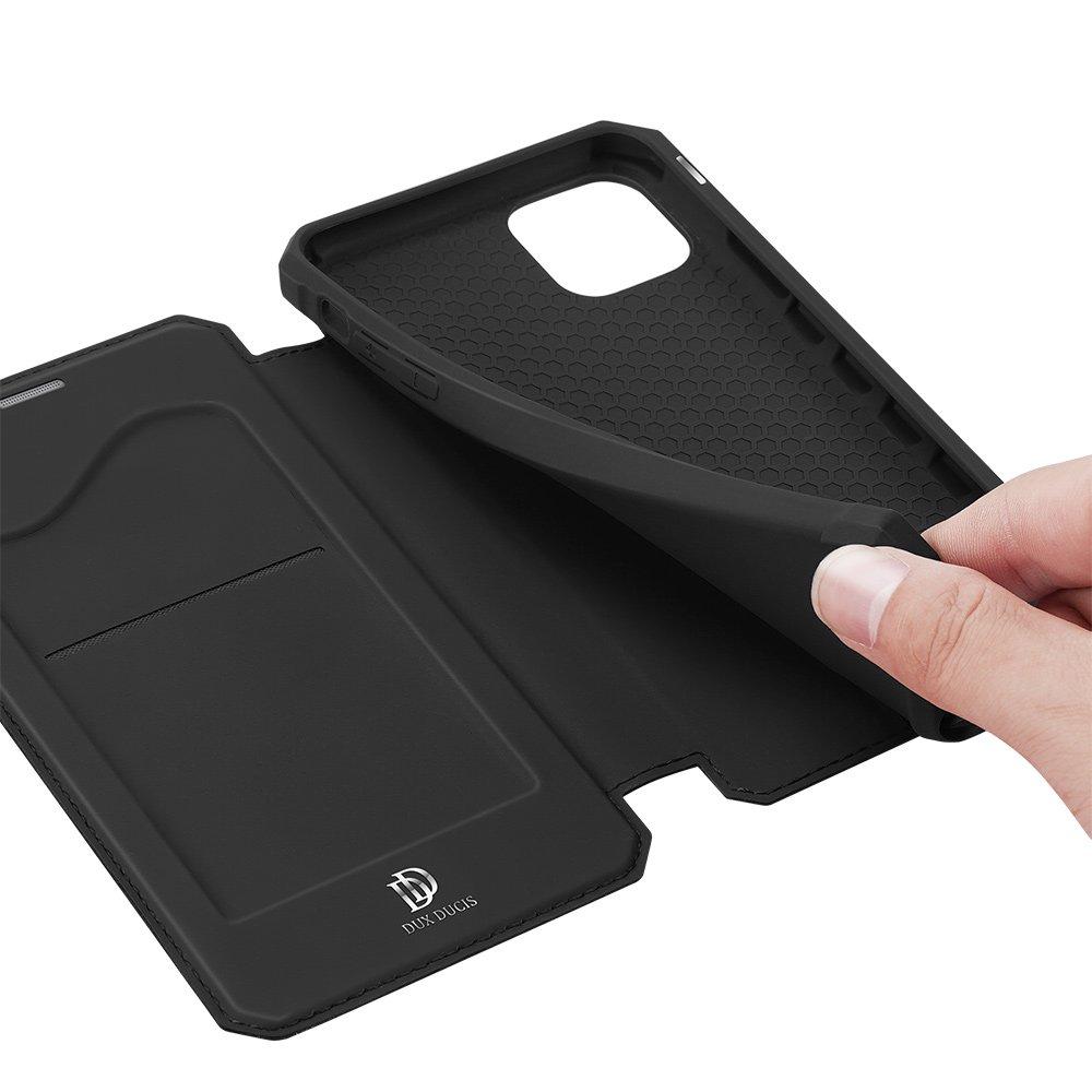 "DUX DUCIS Skin X knížkové pouzdro na iPhone 12 Pro Max 6.7"" black"