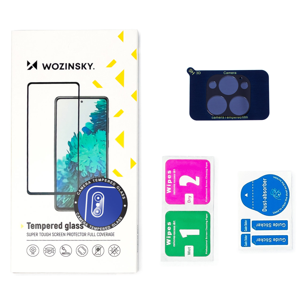 Wozinsky Temperované tvrzené sklo 9H na fotoaparát pro iPhone 12 Mini