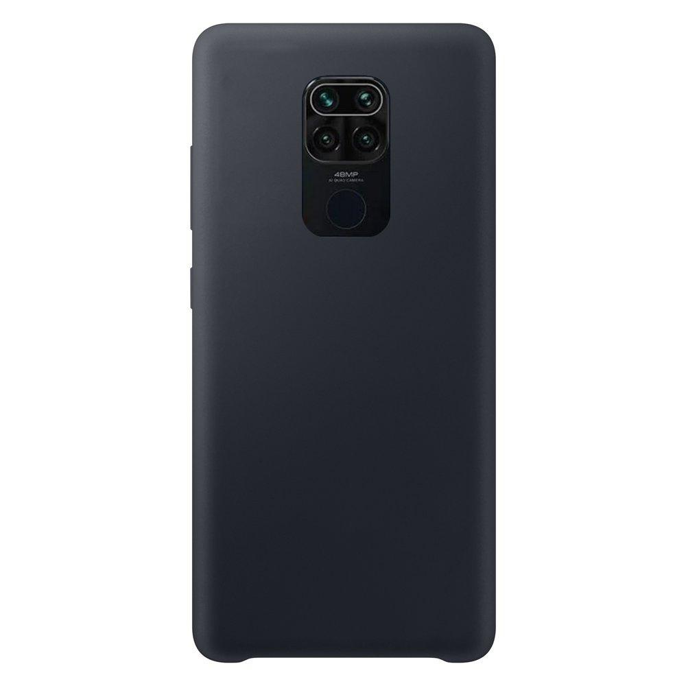 Silikonové pouzdro LUX na Xiaomi Redmi Note 9 black
