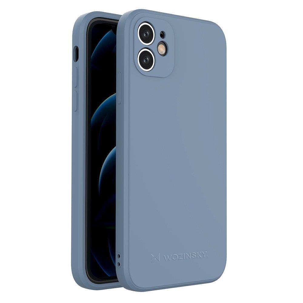 Wozinsky Color Case silikónové puzdro na iPhone 11 blue