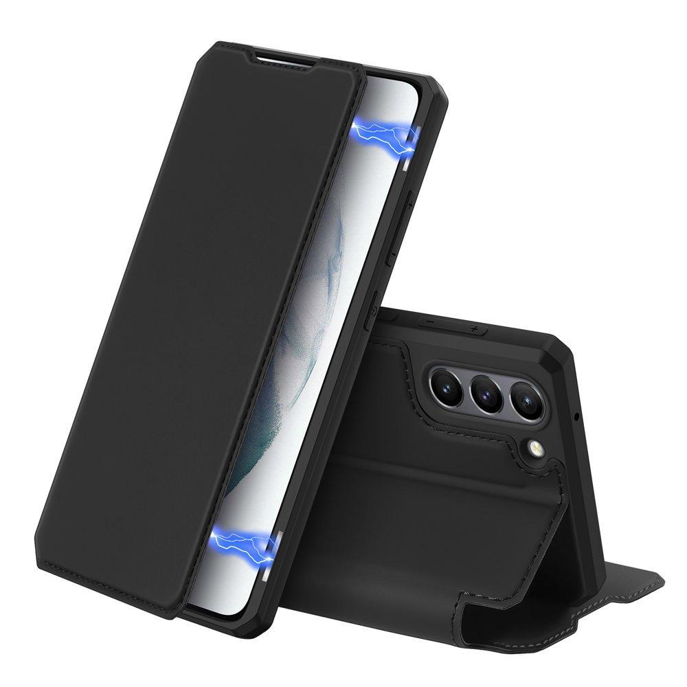 Flipové pouzdro Dux Ducis skin na Samsung Galaxy S21 FE , černá 6934913048030