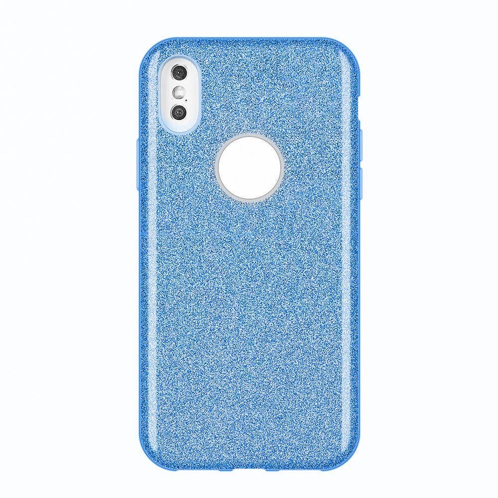 Wozinsky Glitter Shining silikonové pouzdro pro Huawei Mate 30 Lite blue