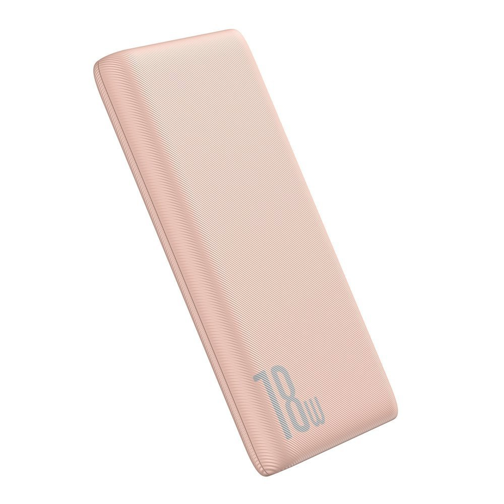 Baseus Bipow Quick Charge Power Banka PD+QC 10000mAh 18W Pink