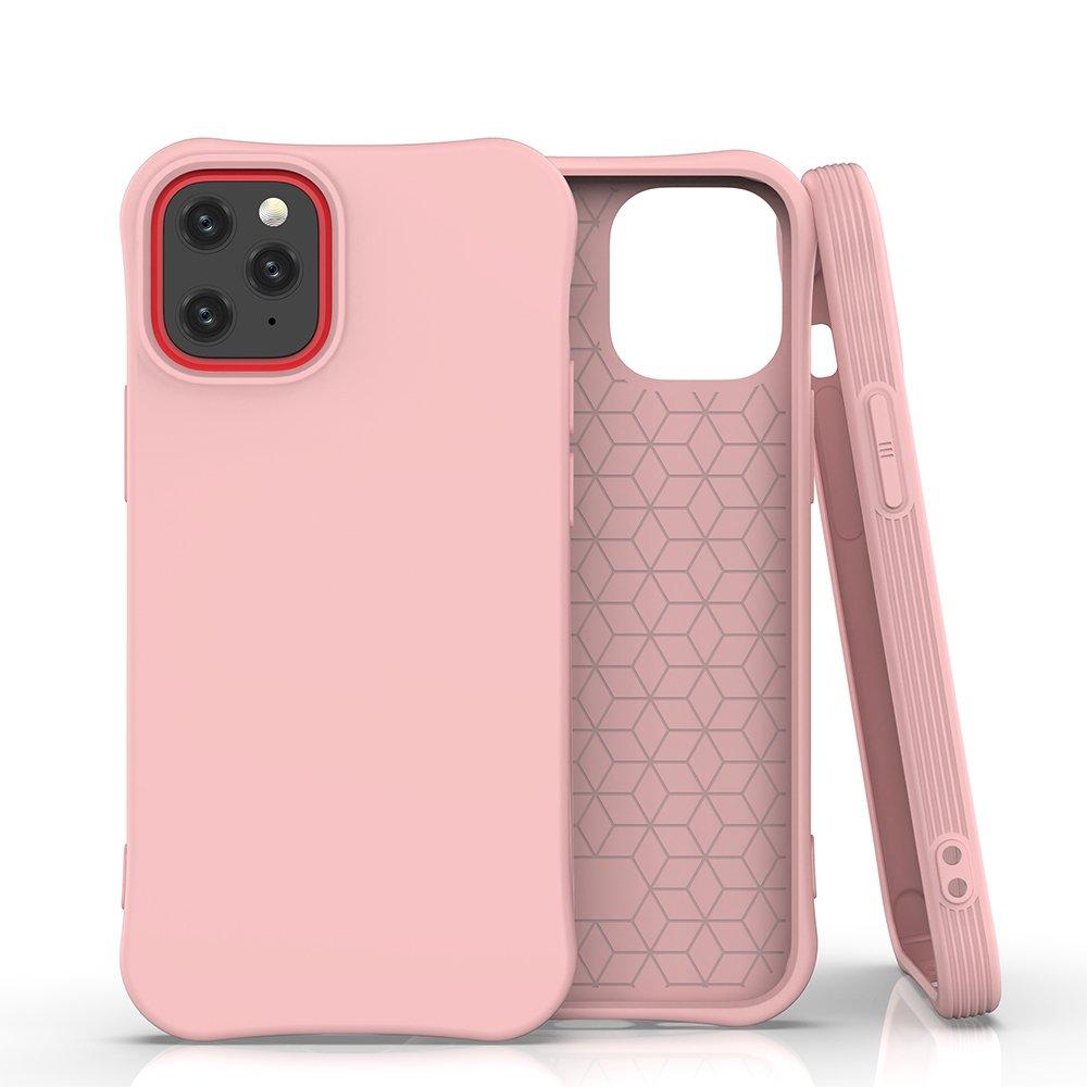 """Soft Color silikonové pouzdro na iPhone 12 / 12 Pro 6.1"""" pink"""