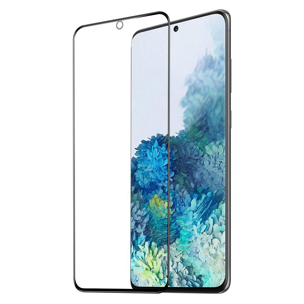 Dux Ducis celoplošne lepené tvrdené sklo 9H pre Samsung Galaxy S21 5G black (case friendly)