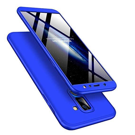 GKK 360 Protection pouzdro pro Samsung Galaxy A6 Plus 2018 A605 blue