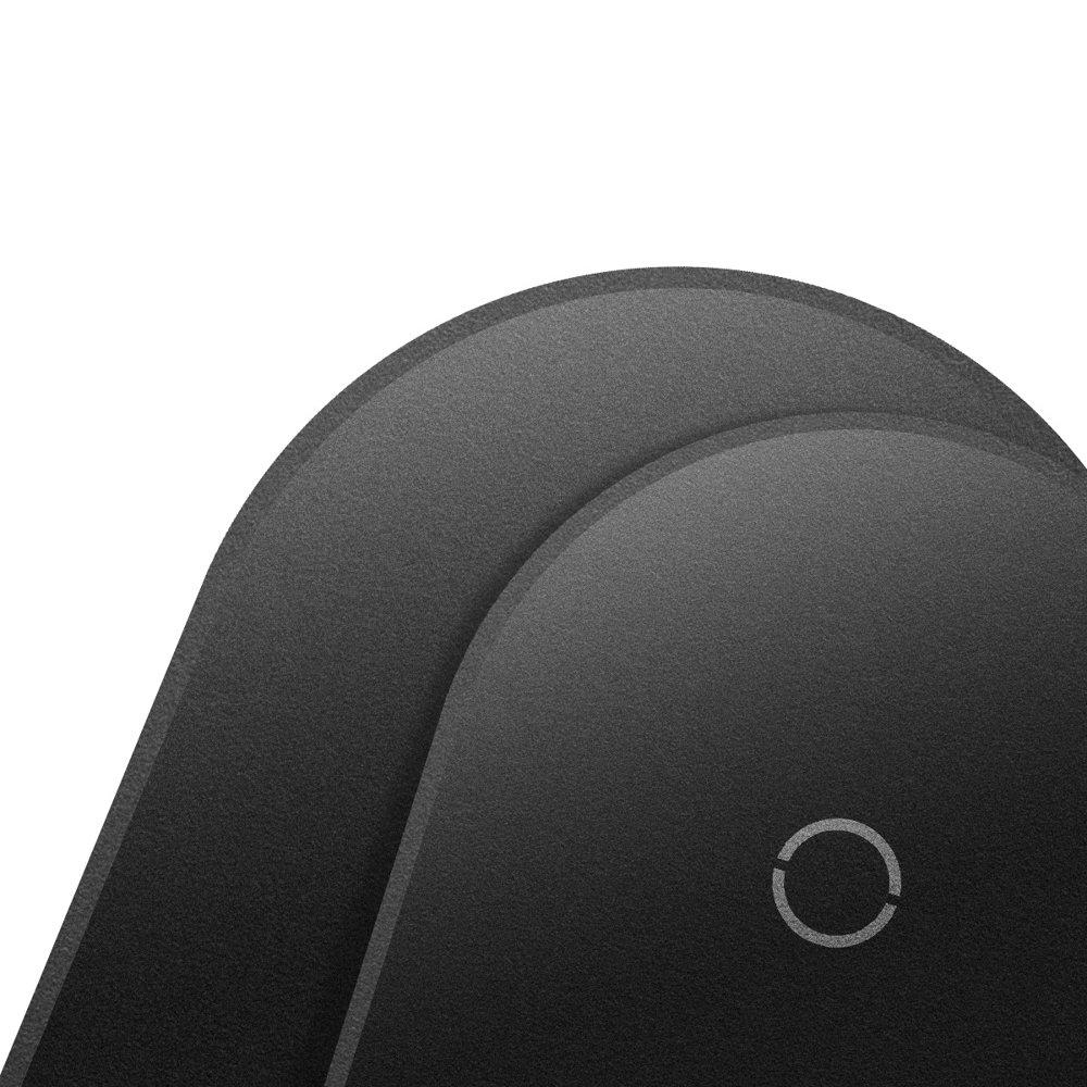 Přijímač bezdrátového nabíjení Baseus Qi pro chytré telefony s portem Lightning black (WXTE-A01)