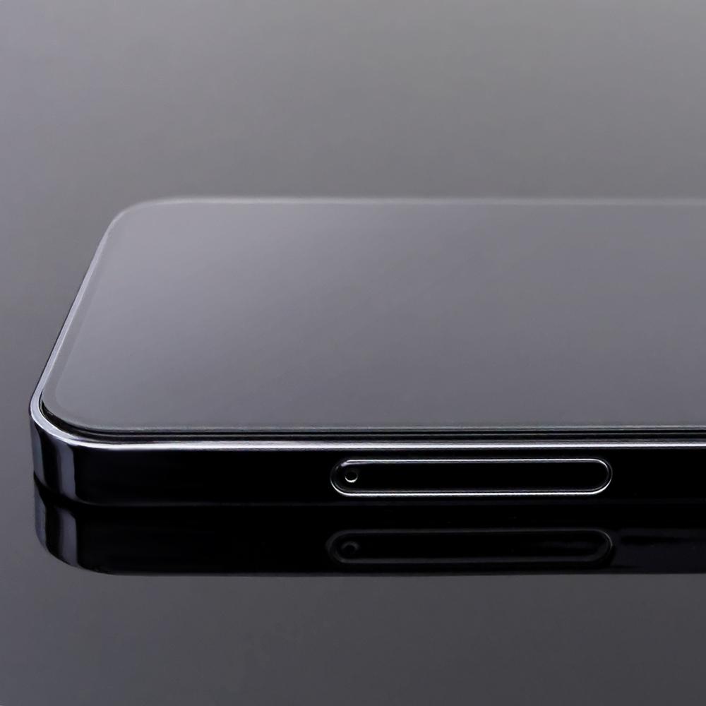 Celoplošné temperované tvrzené sklo 9H Samsung Galaxy A71 black