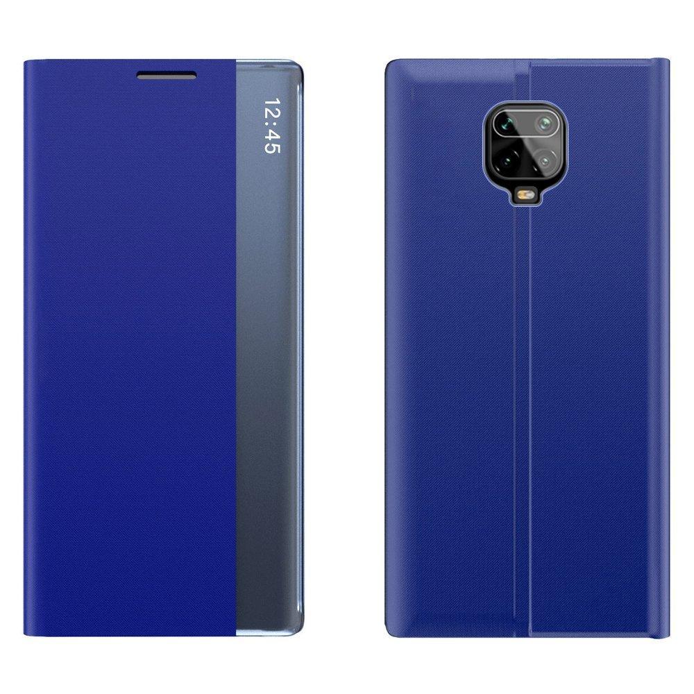 New Sleep knížkové púzdro pre Xiaomi Redmi Note 9 Pro / 9S blue