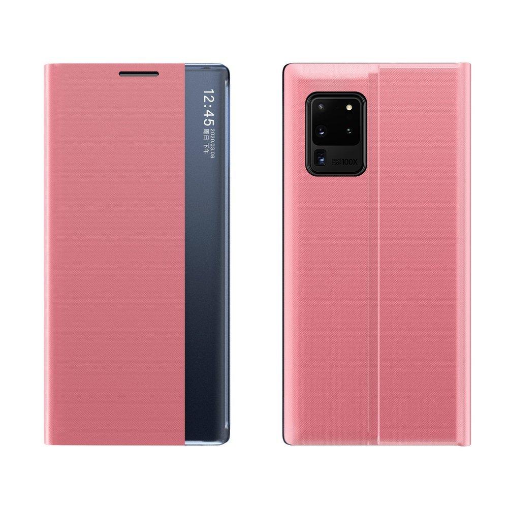 New Sleep knížkové púzdro pre Samsung Galaxy S20 FE 5G pink
