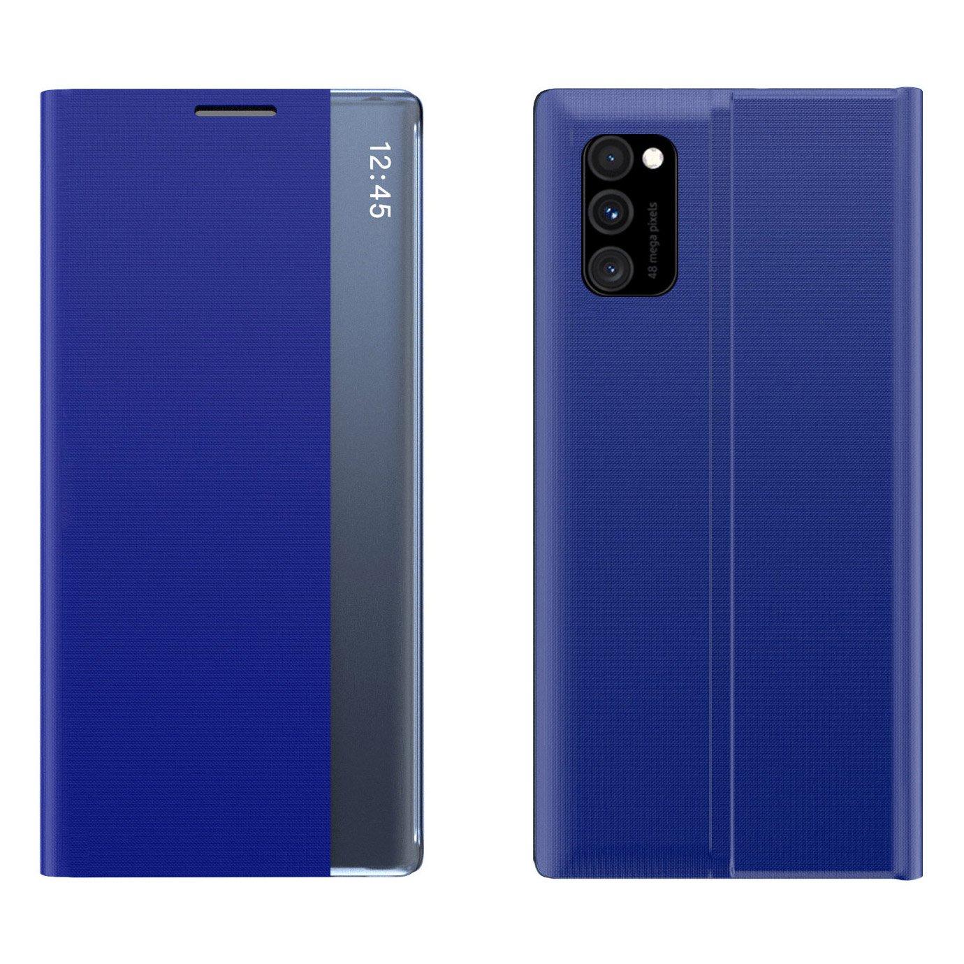 New Sleep knížkové pouzdro na Samsung Galaxy A31 blue