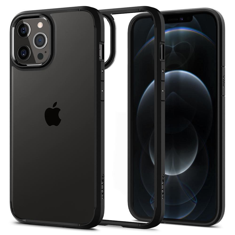 Spigen Ultra Hybrid púzdro pre iPhone 12 / 12 Pro Matte Black