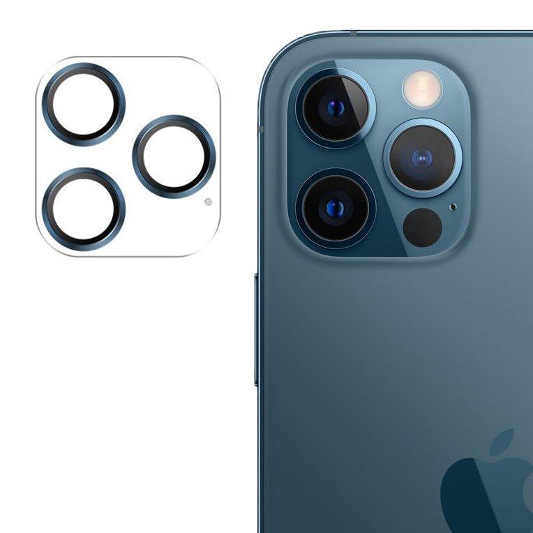 """Joyroom JR-PF688 štýlové ochranné sklo na celý fotoaparát iPhone 12 Pro 6,1"""" blue"""