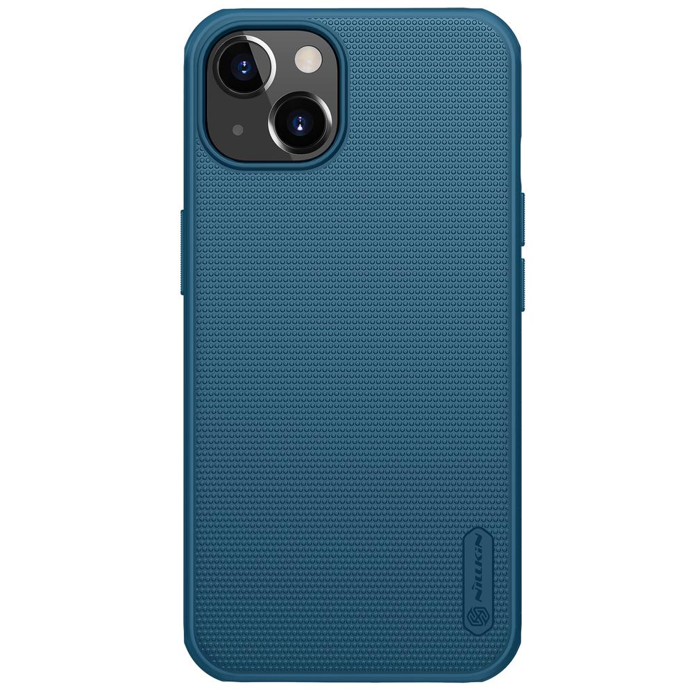 """Nillkin Super Frosted Pro silikonové pouzdro na iPhone 13 6.1"""" blue"""