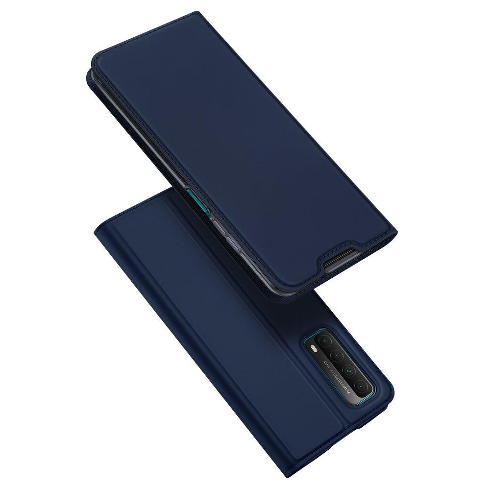 DUX DUCIS Skin knížkové pouzdro na Huawei P Smart 2021 blue