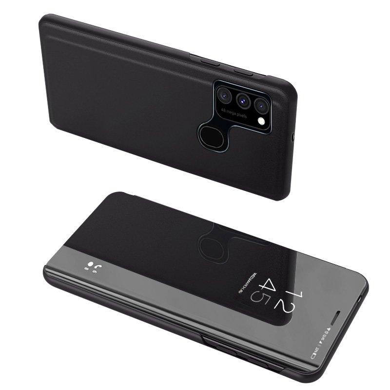 flipové pouzdro Clear View pro Samsung Galaxy A12s , černá 9111201922938