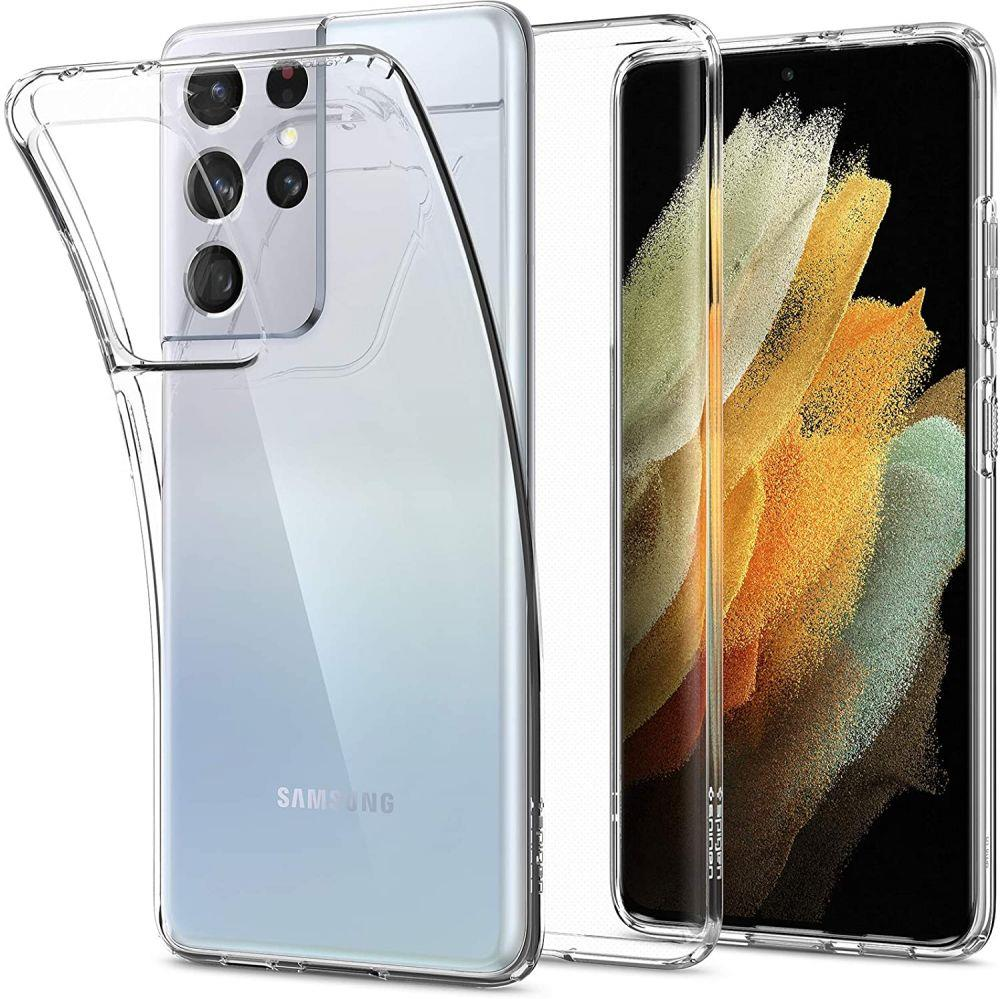 Spigen Liquid Crystal Galaxy S21 Ultra Crystal Clear 8809756642050