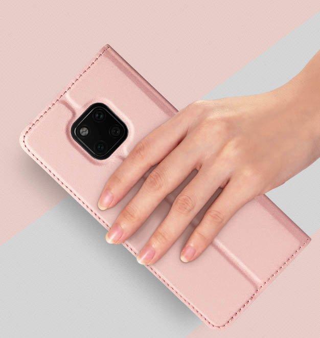 DUX DUCIS Skin knížkové pouzdro pro Huawei Mate 20 Pro pink