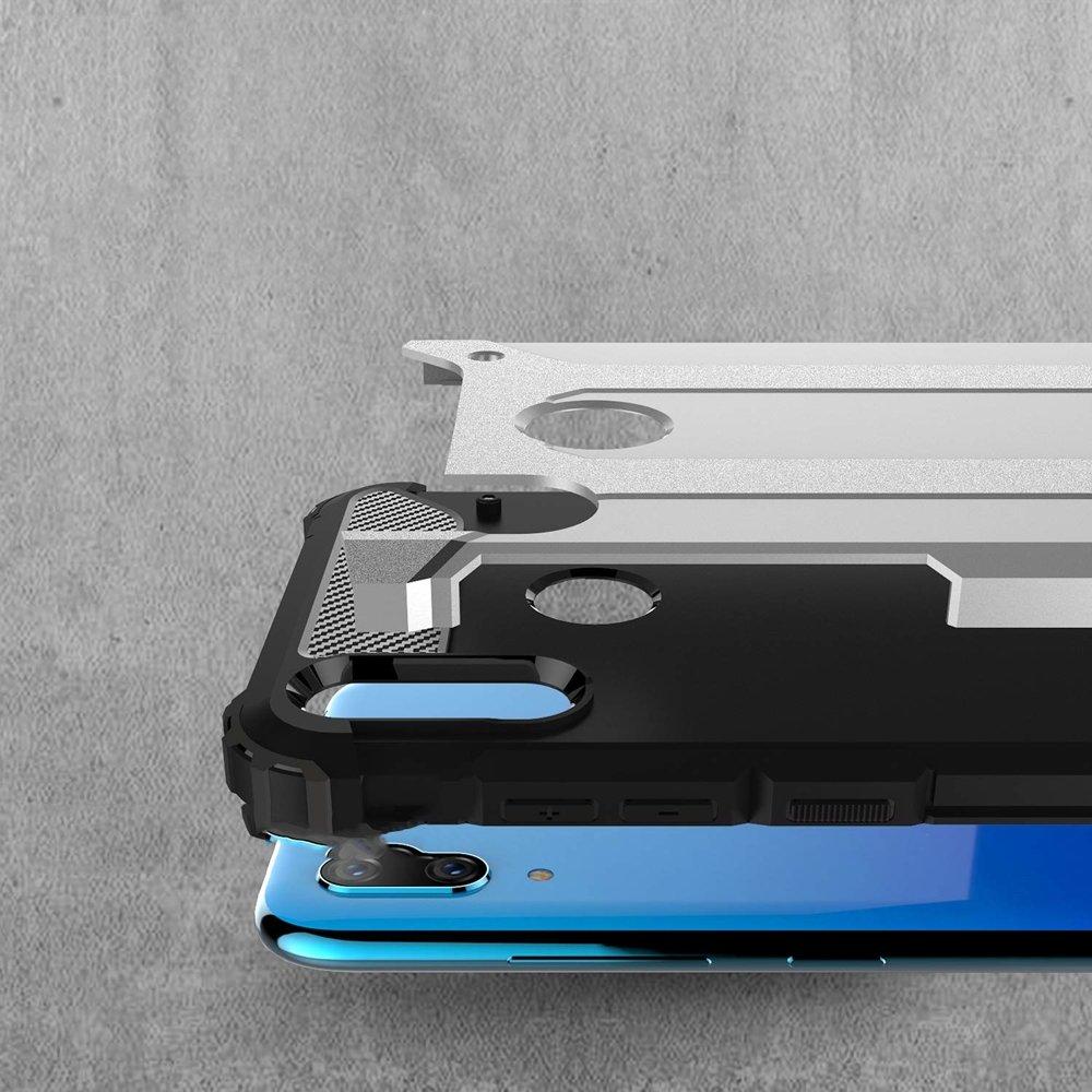 Hybrid pancéřové polykarbonátové pouzdro na Huawei Y7 2019 / Y7 Prime 2019 blue