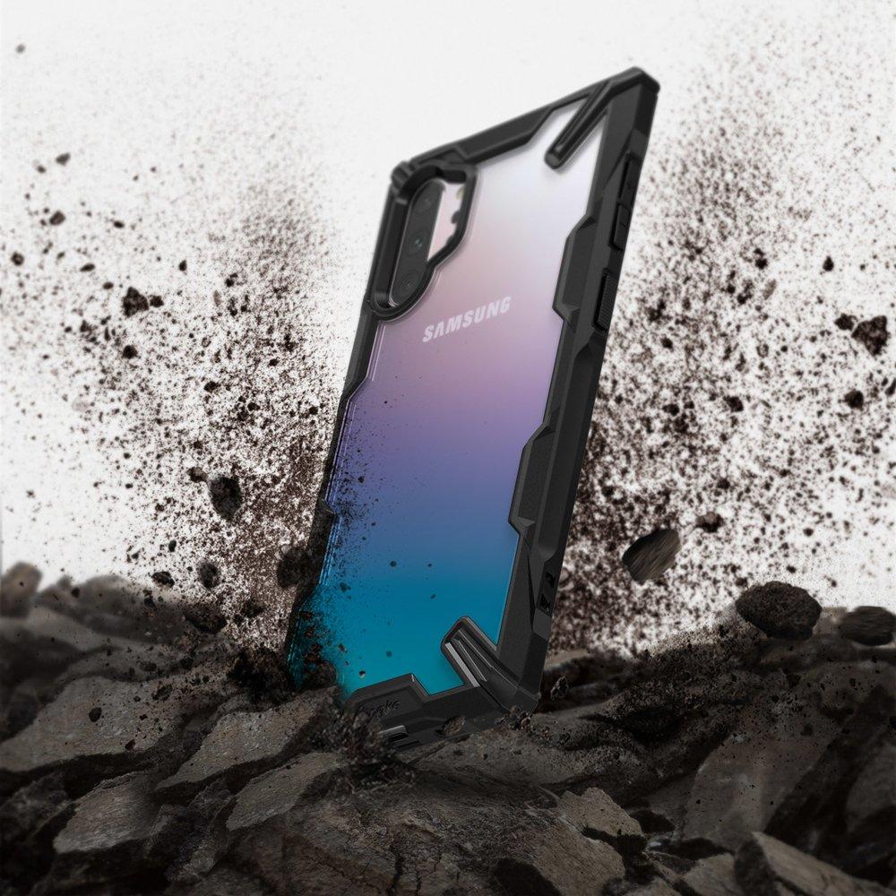 Ringke Fusion X pancéřové pouzdro naSamsung Galaxy NOTE 10 Plus black (FUSG0029)