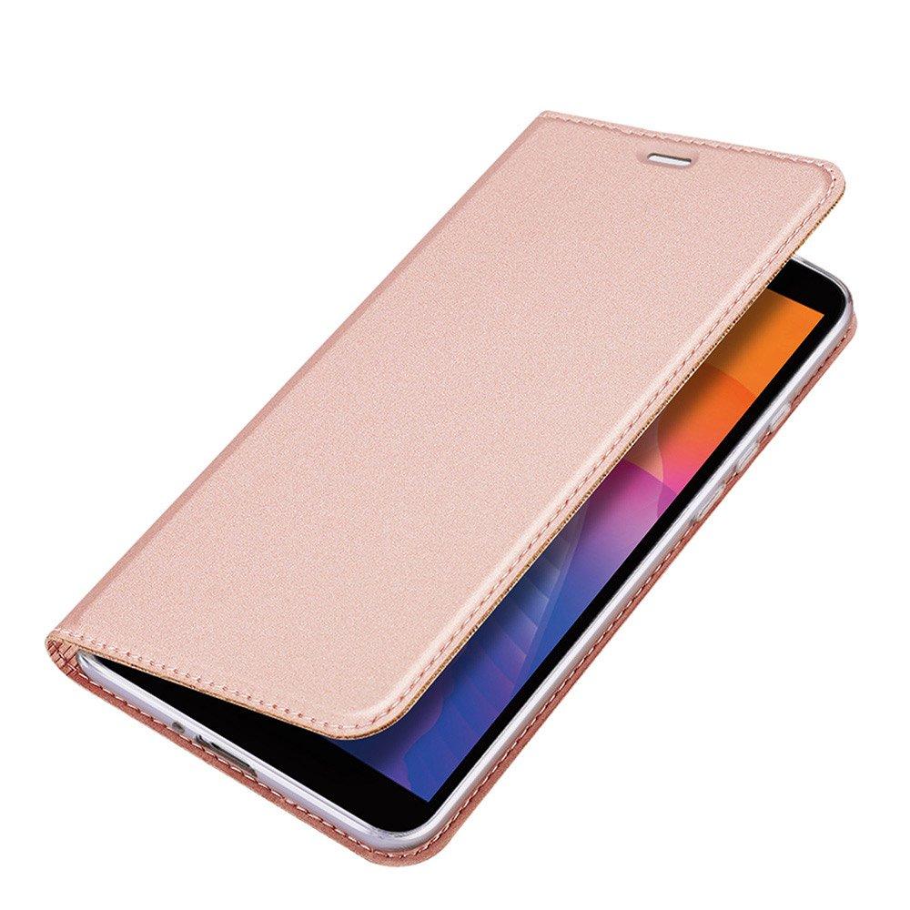 DUX DUCIS Skin knížkové pouzdro na Huawei Y5p pink