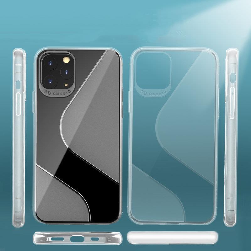 S-Case silikonové pouzdro na Samsung Galaxy M21 transparent