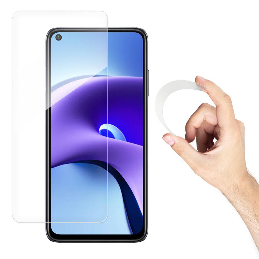 Wozinsky Flexi Nano Hybrid tvrzené sklo 9H na Xiaomi Redmi Note 9T 5G / Note 9 5G