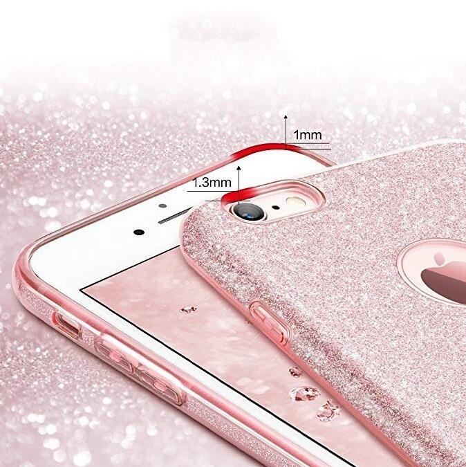 Wozinsky Glitter Shining silikonové pouzdro Samsung Galaxy A40 red